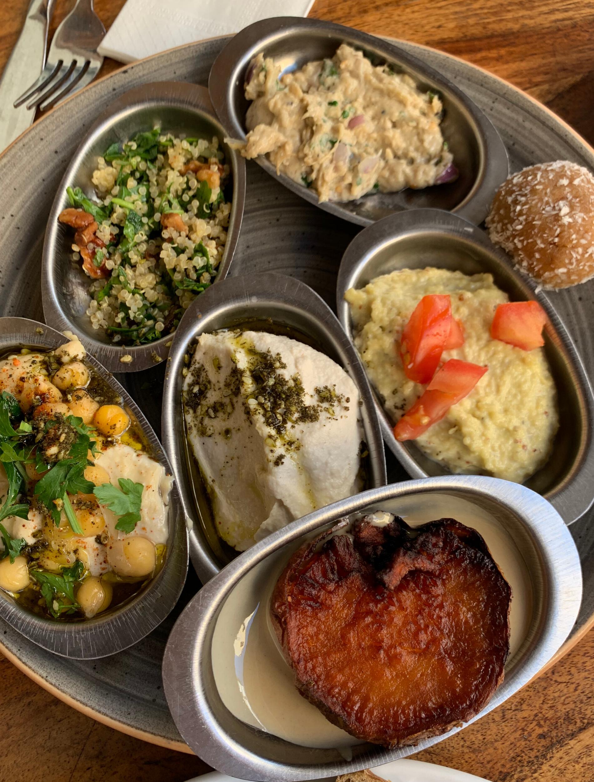 Israel style breakfast