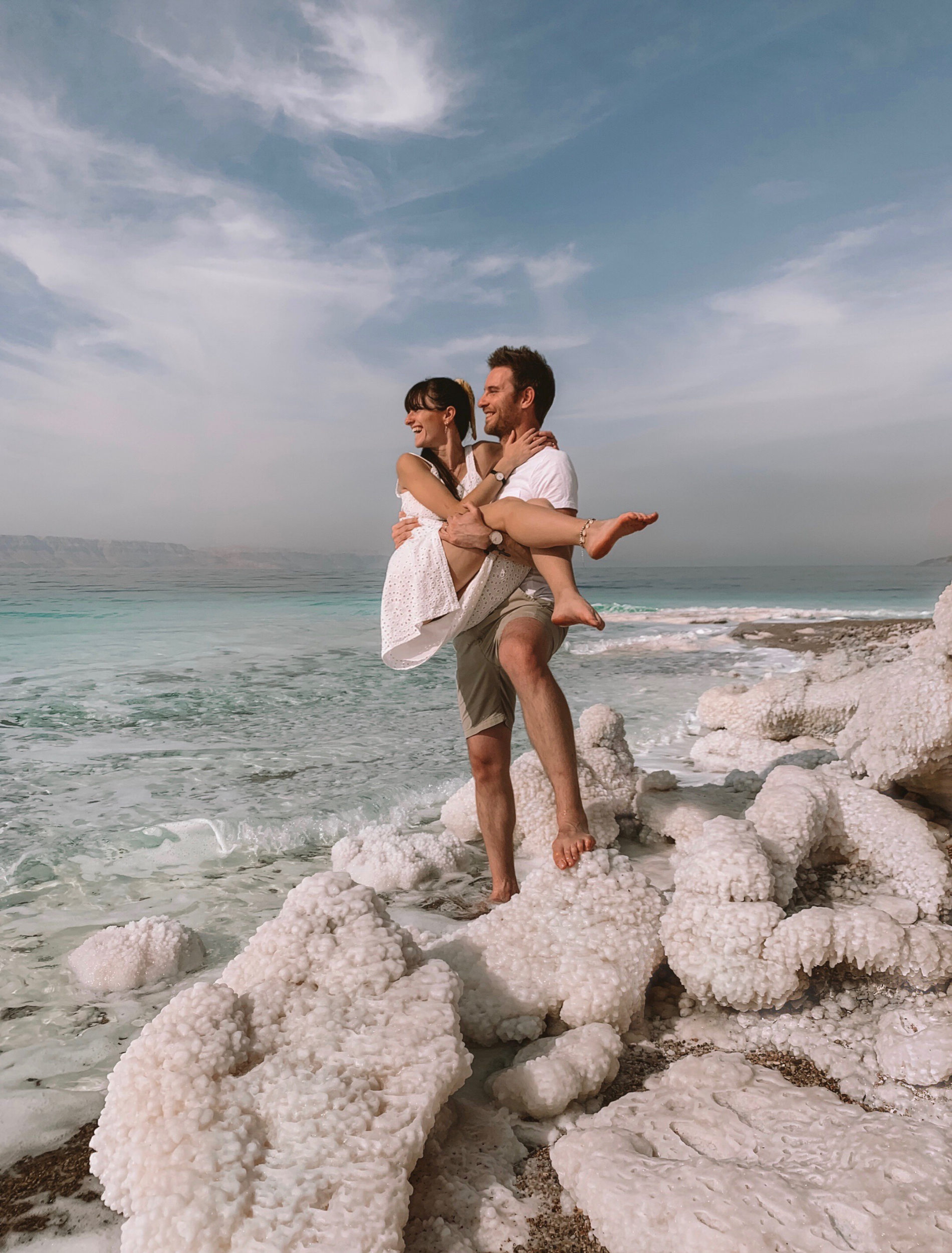 How to find the famous salt formations at the Dead Sea, Jordan part