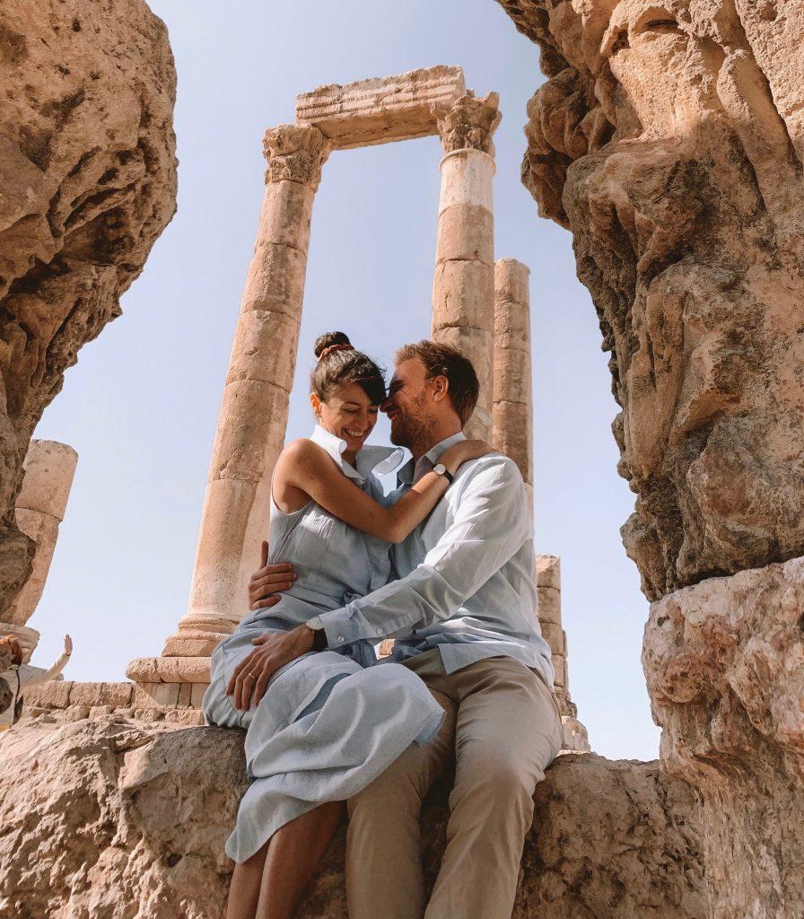 The citadel columns