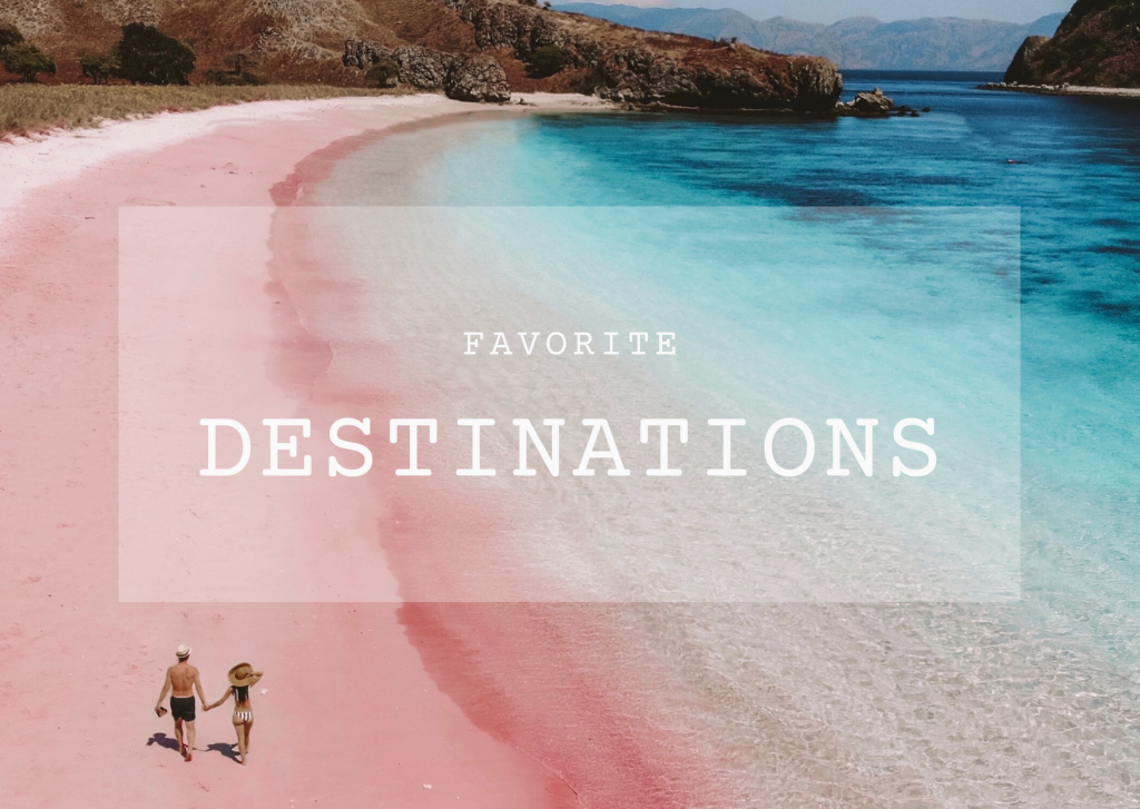 Favorite Destinations