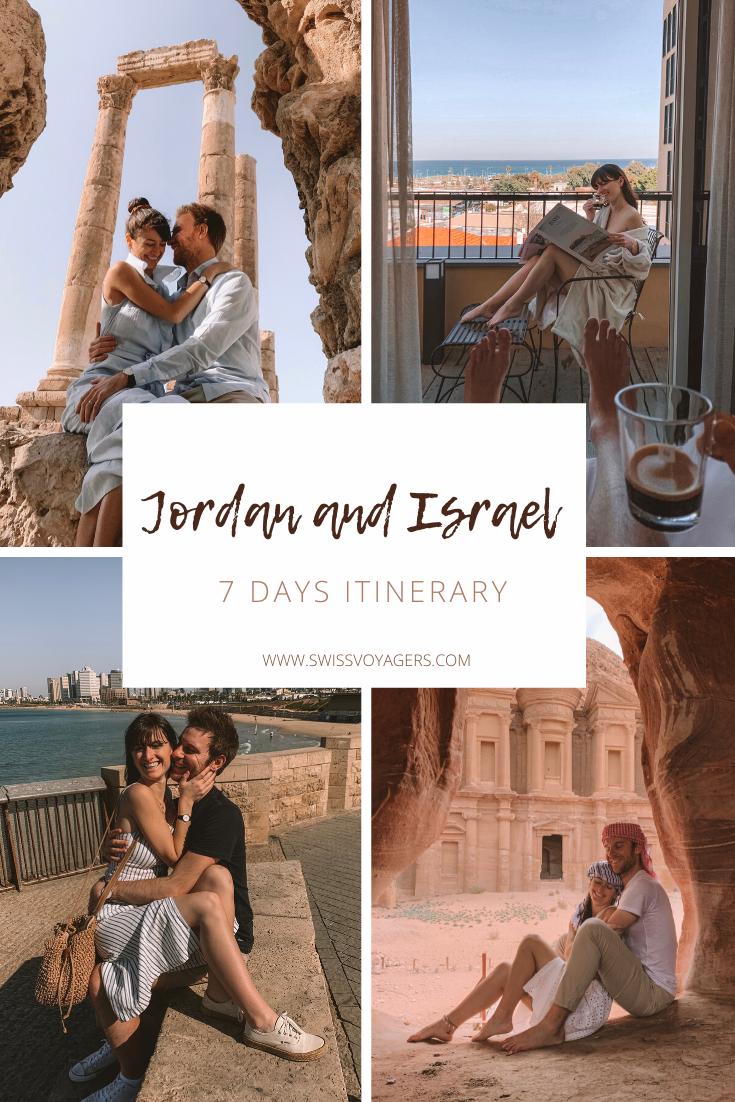 Jordan and Israel 7 day itinerary